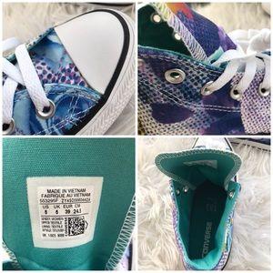 Converse Shoes - NWT Converse Digital Floral White WMNS AUTHENTIC